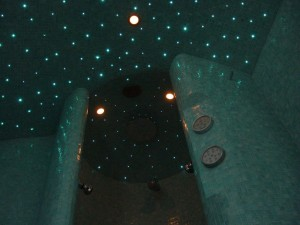 Starry sky in shower (04)